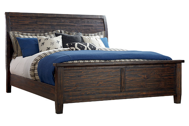Trudell Cal King Panel Bed, , large