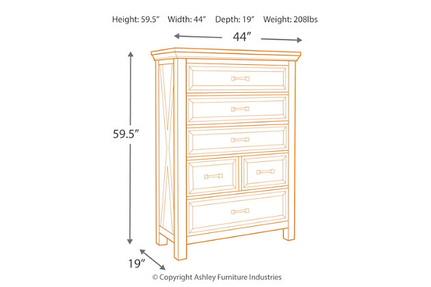 Windville Chest of Drawers, , large
