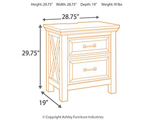 Windville Nightstand Ashley Furniture Homestore
