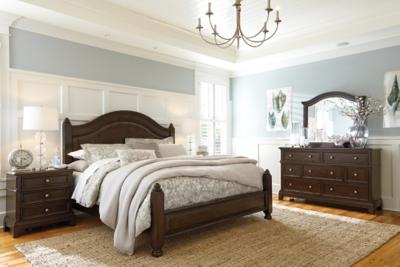 Lavidor Queen Poster BedAshley Furniture HomeStore