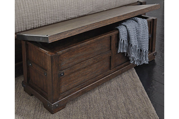 Zenfield Bedroom Bench | Ashley Furniture HomeStore