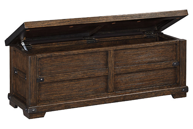 Zenfield bedroom bench ashley furniture homestore - Ashley furniture bedroom benches ...