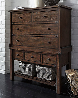 ... Large Zenfield Chest Of Drawers, , Rollover