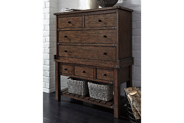 Zenfield Chest of Drawers by Ashley HomeStore, Brown