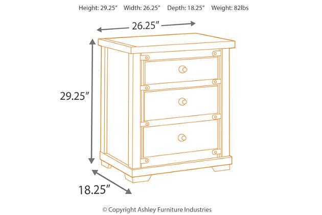 zenfield nightstand large