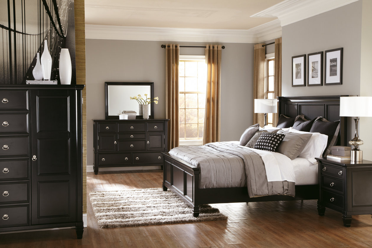 Greensburg Panel Bed #furniture