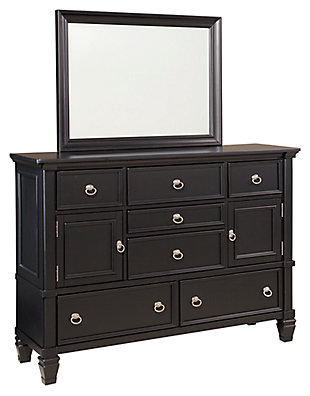 Greensburg Dresser and Mirror, , large