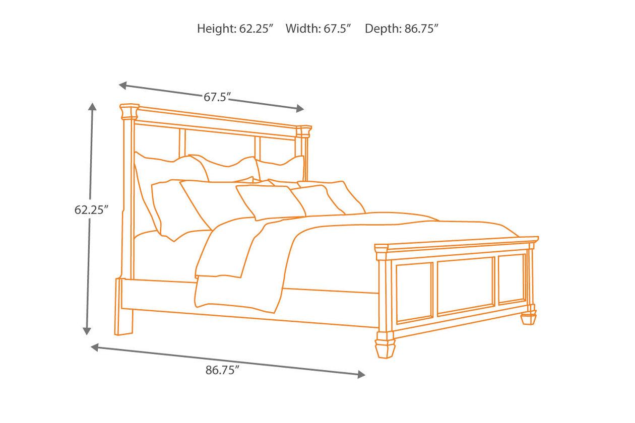 Greensburg Queen Panel Bed Ashley Furniture Homestore