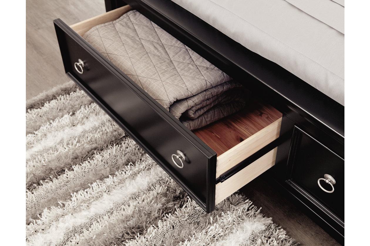 Greensburg Queen Sleigh Bed With Storage Ashley Furniture Homestore