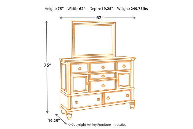 Prentice Dresser and Mirror, , large