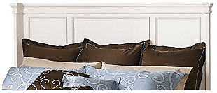 Prentice Queen Panel Headboard, White, large