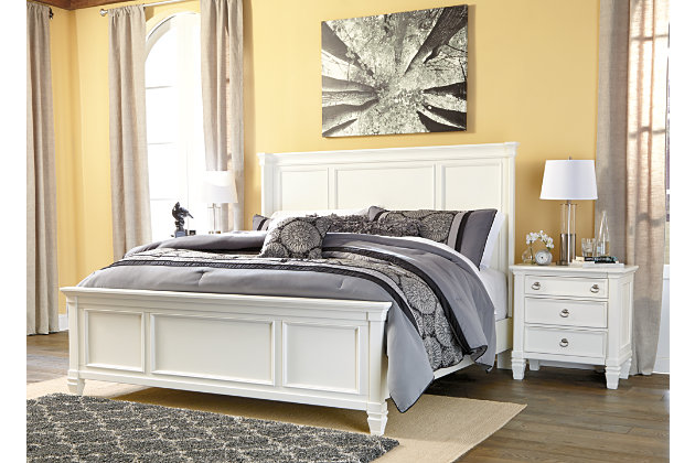 Prentice Queen Panel Bed | Ashley Furniture HomeStore
