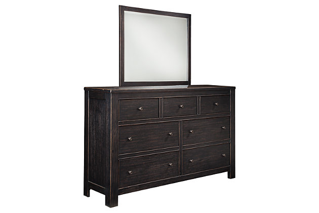 Wesling Dresser and Mirror | Ashley Furniture HomeStore