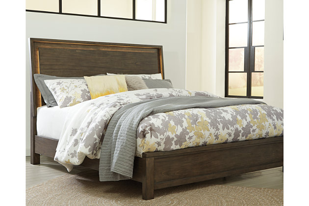 Camilone Queen Panel Bed | Ashley Furniture HomeStore