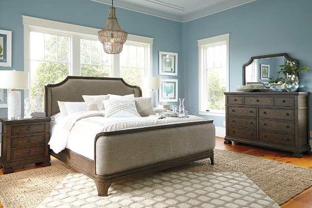 Ashley Porter King Panel Bedroom Set Henry Bedroom