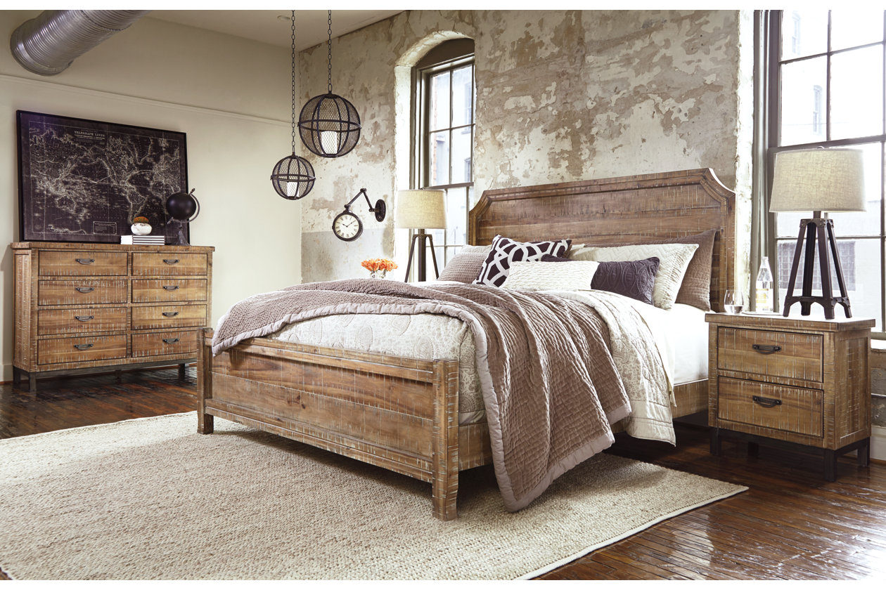Fanzere Queen Bed #furniture