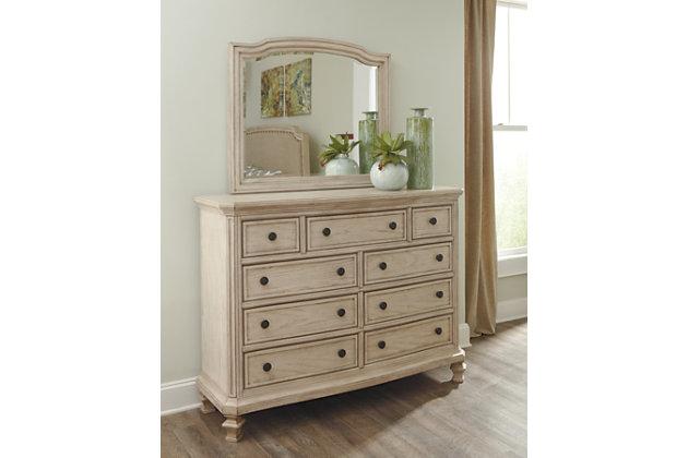 Demarlos Dresser and Mirror, , large