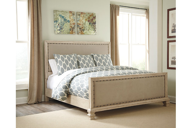 Demarlos Queen Upholstered Bed Ashley Furniture Homestore
