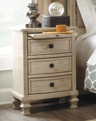 Parchment White Nightstand Product Photo 1563