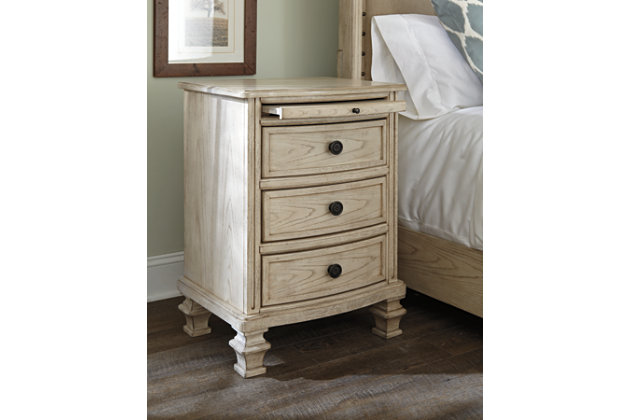 Tan Demarlos Nightstand by Ashley HomeStore