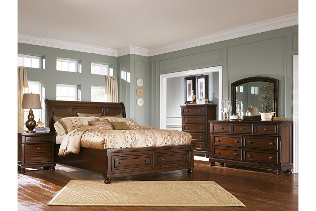 Porter King Sleigh Bed Ashley Furniture Homestore