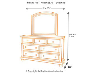 Porter Dresser and Mirror, , large