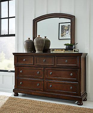 Porter Dresser and Mirror, , rollover