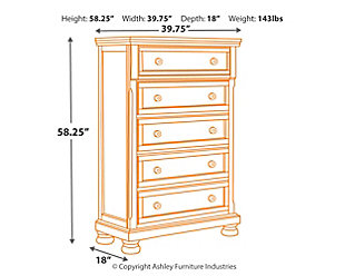Porter Chest of Drawers, , large