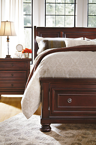 Porter Queen Sleigh Bed Ashley Homestore