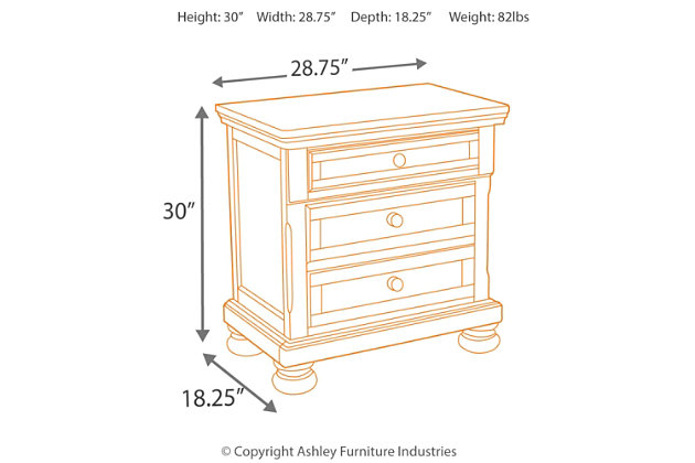 Porter Nightstand, , large