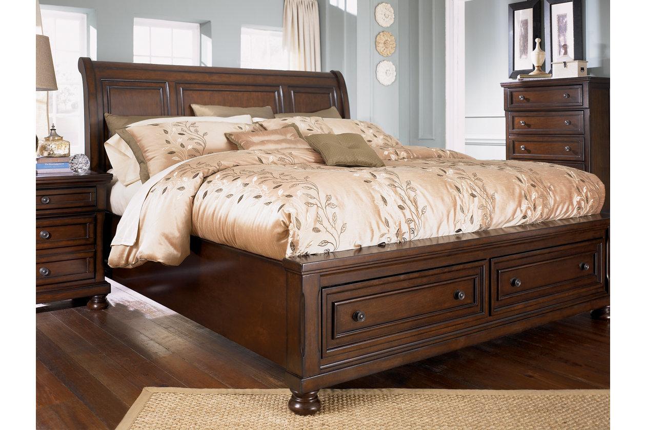 Porter King Sleigh Bed Ashley Furniture Homestore