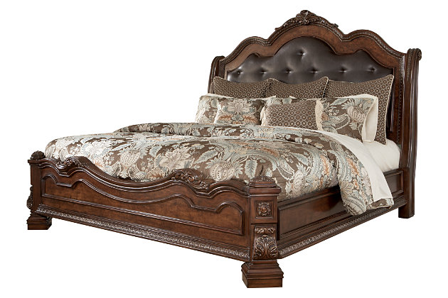 Ledelle King Sleigh Bed Ashley Furniture HomeStore