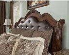 ledelle king sleigh bed ashley furniture homestore ledelle poster bedroom set ogle furniture
