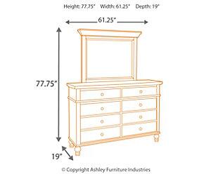 Marsilona Dresser and Mirror, , large