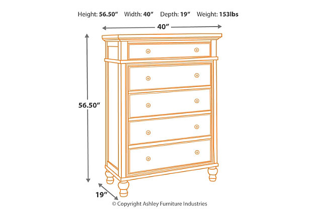 Marsilona Chest of Drawers, , large