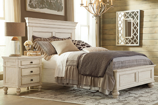 Marsilona Queen Panel Bed | Ashley Furniture HomeStore