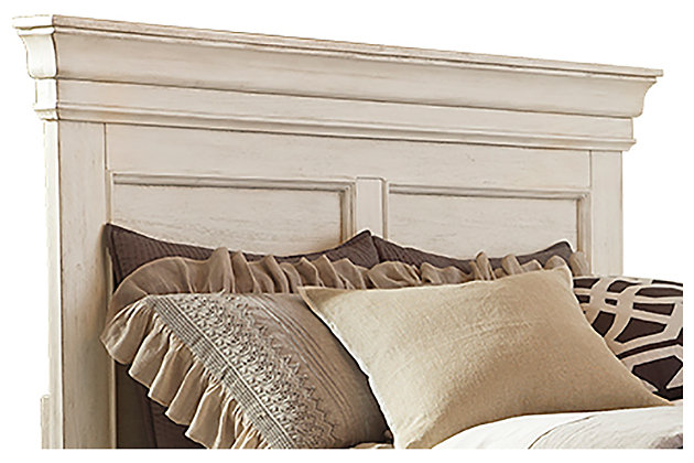 Marsilona Queen Panel Headboard, White, large