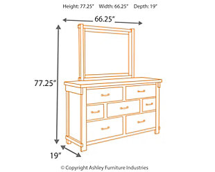 Lakeleigh Dresser and Mirror, , large