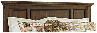 Flynnter Queen Panel Headboard, Medium Brown, large