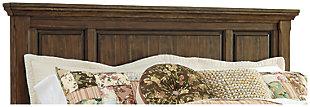 Flynnter Queen Panel Headboard, Medium Brown, large