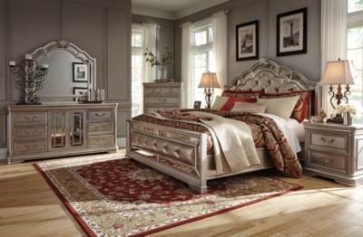 Picture of: Birlanny Queen Panel Bed Ashley Furniture Homestore