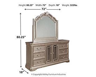 Birlanny Dresser and Mirror, , large