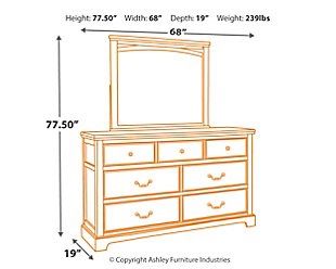Charmyn Dresser and Mirror, , large