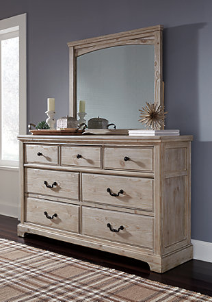 Charmyn Dresser and Mirror, , rollover