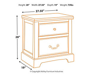 Charmyn Nightstand, , large