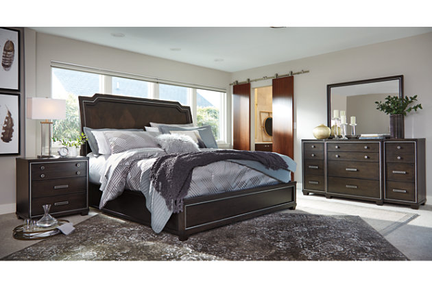 Zimbroni 5 Piece Queen Bedroom Ashley Furniture Homestore