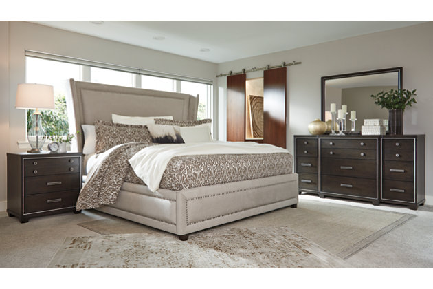Zimbroni 5-Piece King Upholstered Bedroom | Ashley Furniture HomeStore