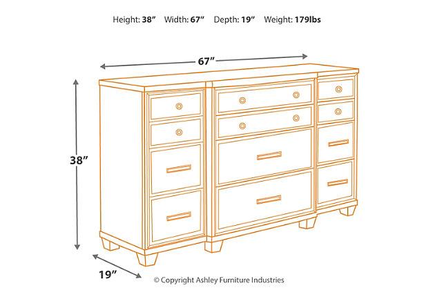 Zimbroni Dresser, , large
