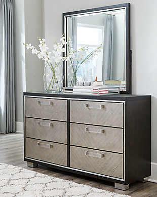 Maretto Dresser and Mirror, , rollover