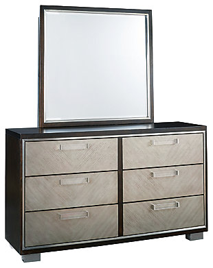Maretto Dresser and Mirror, , large